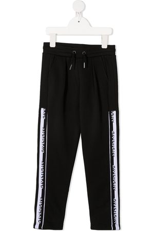 Givenchy Niño Pantalones y Leggings - Pantalones de chándal con logo y cordones