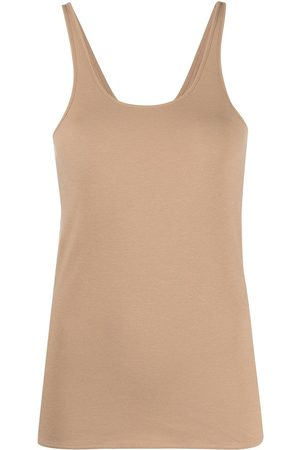 LEMAIRE Crepe jersey tank top