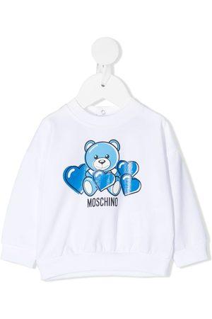 Moschino Sudadera con estampado Teddy Bear