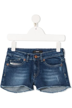 Diesel Cut-off denim shorts