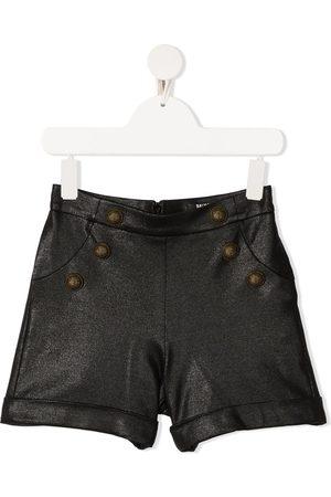 Balmain Niña Shorts - Glitter-effect shorts