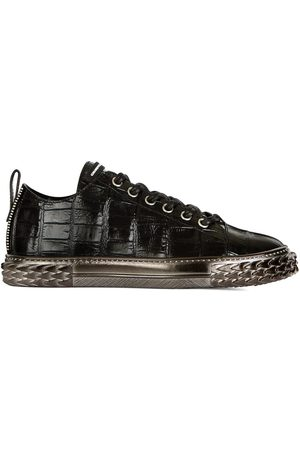 Giuseppe Zanotti Hombre Tenis - Croco-embossed sneakers