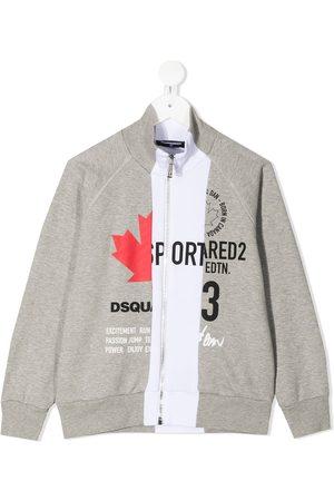 Dsquared2 Stripe detail logo jacket