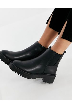 Schuh Adeline chunky chelsea boot in black