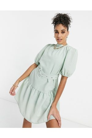 Unique 21 Belted smock dress