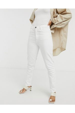 MiH Jeans MiH Mimi high rise straight leg jeans in white