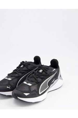 PUMA Running ultraride trainers in black
