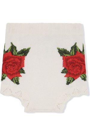 Dolce & Gabbana Shorts con detalle tejido