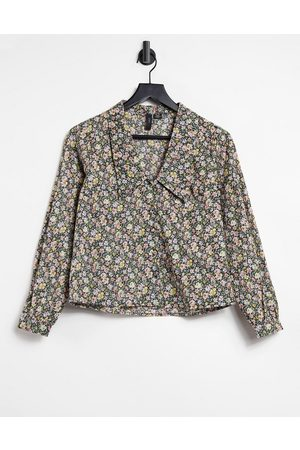 Y.A.S Shirt with prairie collar in floral print