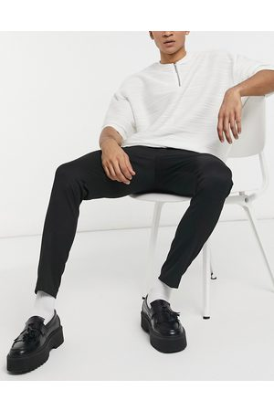 ASOS Super skinny smart trouser in black