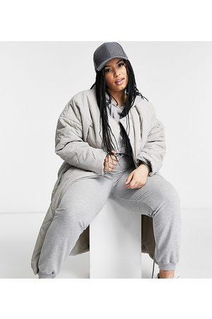 PUBLIC Maxi jacket in quilting