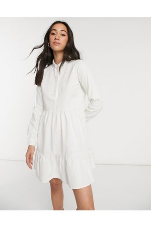 Vero Moda Cotton shirt dress in white