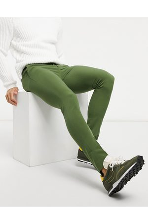 ASOS Extreme super skinny smart trouser in khaki