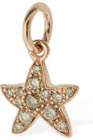 """Dodo Mujer Collares - Colgante """"stella Marina"""" De Oro 9kt Y Diamantes"""
