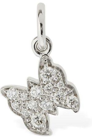 """Dodo Mujer Collares - Colgante """"farfalla"""" De Oro 18kt Y Diamantes"""