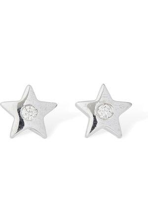 AG Pendientes Estrella De 18kt Y Diamantes