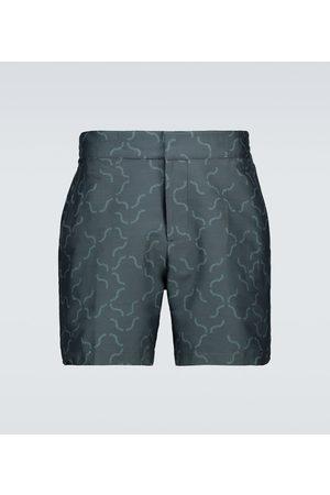 Frescobol Carioca Printed swim shorts