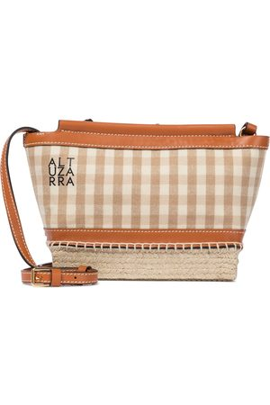 Altuzarra Mujer Bolsas crossbody - Espadrille Mini gingham crossbody bag