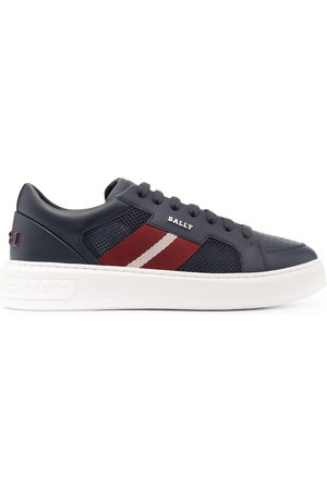 Bally Striped band chunky-sole sneakers