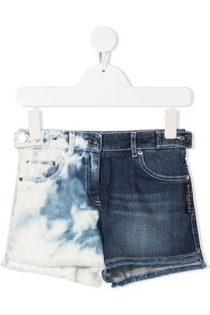 Givenchy Tie-dye denim shorts