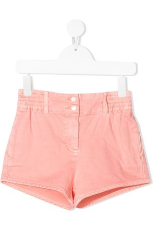 Stella McCartney Mid-rise denim shorts