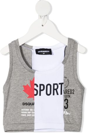 Dsquared2 Panelled logo tank top