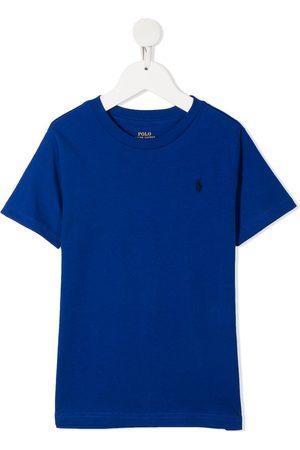 Ralph Lauren Signature logo embroidered t-shirt