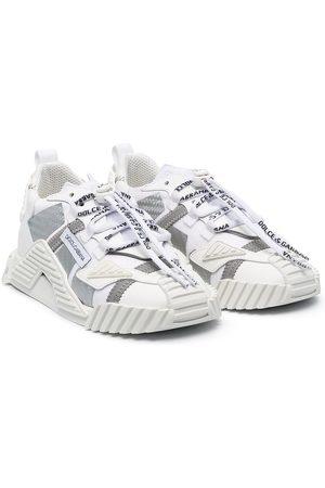 Dolce & Gabbana Niña Tenis - Two-tone chunky sneakers