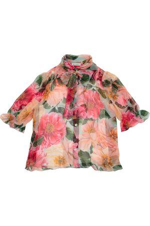 Dolce & Gabbana Floral silk shirt