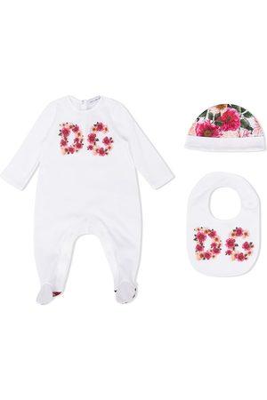 Dolce & Gabbana Pijama con estampado floral y logo