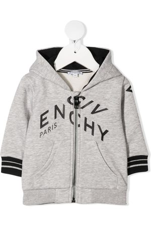 Givenchy Logo zipped hoodie