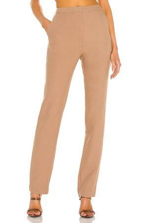 L'Academie Mujer De vestir - Pantalón aubrey en color talla L en - Brown. Talla L (también en M, S, XL, XS, XXS).