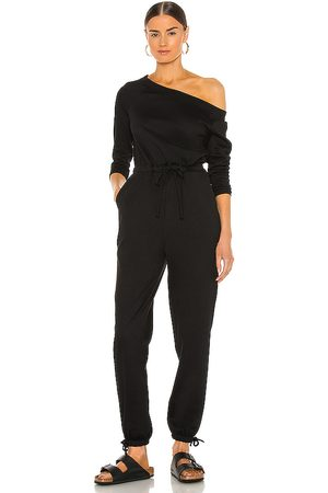 Lovers + Friends Kipton jumpsuit en color talla L en - Black. Talla L (también en M, S, XL, XS, XXS).