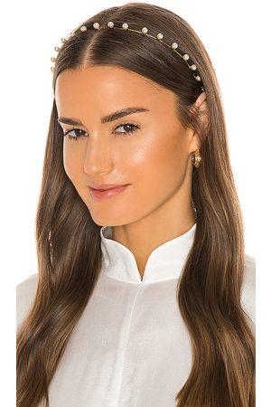 Jennifer Behr Banda pelo iris en color blanco talla all en - White. Talla all.