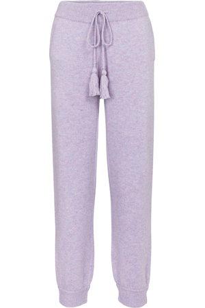 LOVESHACKFANCY Tristan wool-blend trackpants