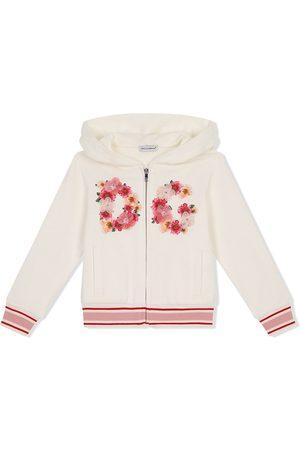 Dolce & Gabbana Hoodie con logo bordado