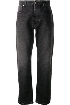 Ami Jeans rectos con efecto lavado