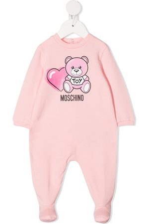 Moschino Teddy bear-print pajamas