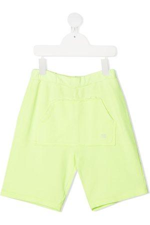 DOUUOD KIDS Pouch pocket track shorts