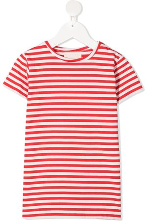 DOUUOD KIDS Striped cotton t-shirt