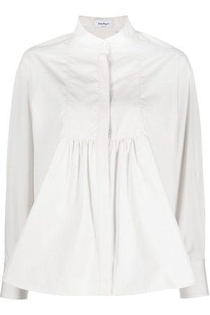 Salvatore Ferragamo Mujer Blusas - Blusa con pliegues