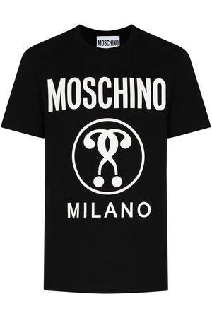 Moschino Playera con motivo Double Question Mark