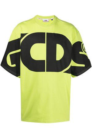 GCDS Playera oversize con logo