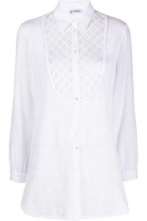 La Perla Camisa con detalles bordados