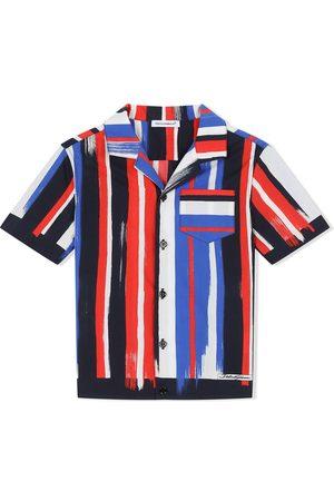 Dolce & Gabbana Camisa a rayas con manga corta