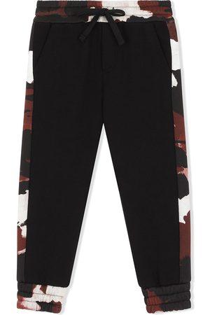 Dolce & Gabbana Pantalones de chándal con motivo militar