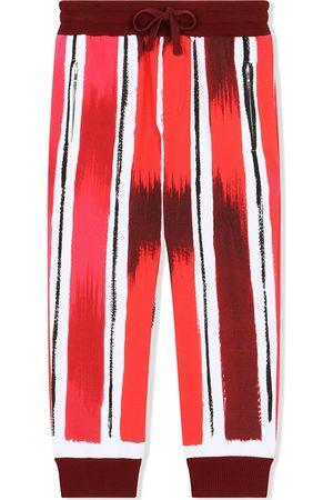 Dolce & Gabbana Pantalones de chándal con raya