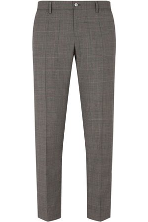 Dolce & Gabbana Prince of Wales checked trousers