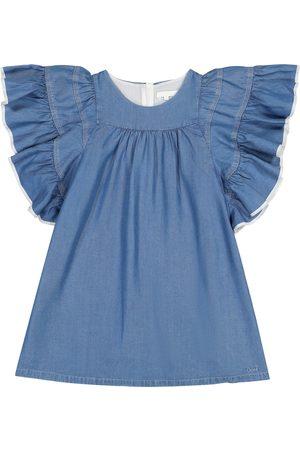 Chloé Niña Cortos - Ruffled dress