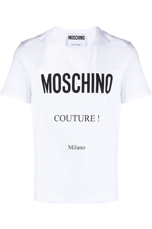 Moschino Logo-print short-sleeve T-shirt
